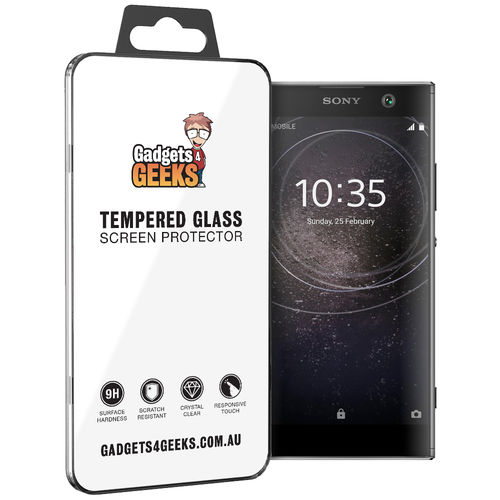 Calans 9H Tempered Glass Screen Protector for Sony Xperia XA2 - Clear